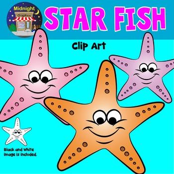 Sea Animals Clip Art - Star Fish