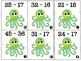 Sea Creature 2-Digit Subtraction With Regrouping Matcing