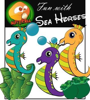 Sea Creatures_Fun With Sea Horses