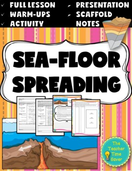 Sea-Floor Spreading Lesson (PowerPoint, notes, and activit