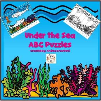 Sea Life ABC Order Puzzles