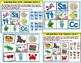 Sea Life Bingo and  Phonemic Awareness Literacy Activities
