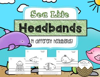 Sea Life Headbands- Traceable- No Prep!