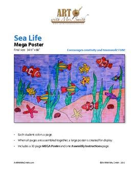 Sea Life MEGA Poster
