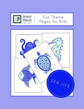 Sea Life Theme Fun Pages