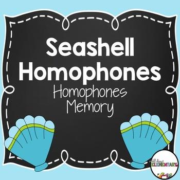 Seashell Homophone Memory