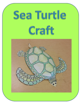 Sea Turtle Craft (ocean, under the sea)