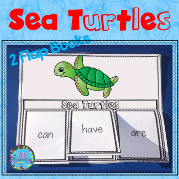 Sea Turtles Foldable Activities and Fast Facts!