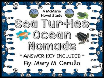 Sea Turtles Ocean Nomads (Mary M. Cerullo) Book Study / Co