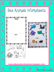Sea Worksheets for Kindergarten ELA