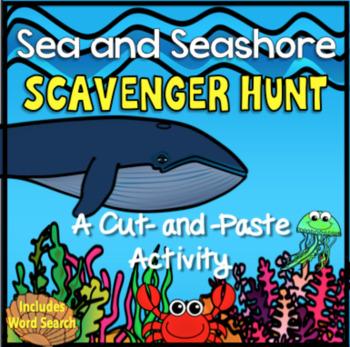 Sea and Seashore Scavenger Hunt