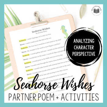 """Seahorse Wishes"" {A Partner Perspective Poem}"