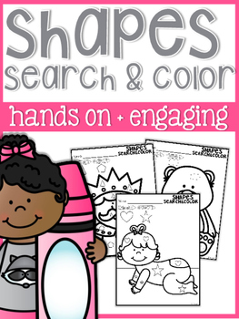 Search and Color: Shapes