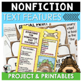 Nonfiction Text Features Project and Printables