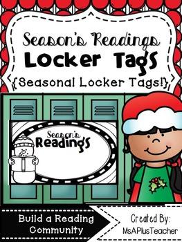 Season's Readings Locker Tags