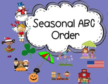 ABC Order Lessons {Seasonal}
