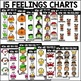 Seasonal Feelings Charts and Writing Prompts