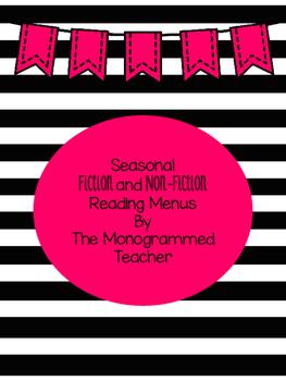 Seasonal Fiction and Non-Fiction Reading Menu