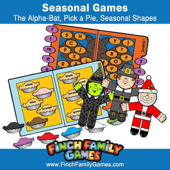 Seasonal File Folder Games and Paper Crafts