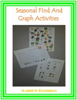 Seasonal Find and Graph Activities