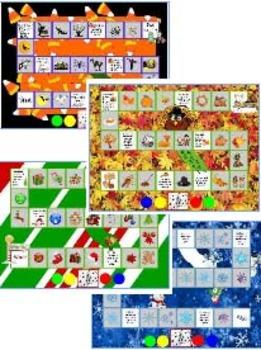 Seasonal Gameboard for the Promethean Board