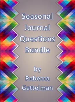 Seasonal Journal Questions/Prompts Bundle