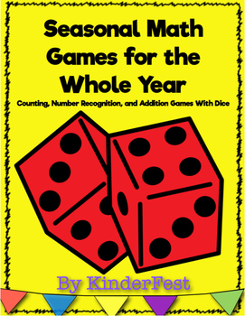 Seasonal Math Games for the Whole Year
