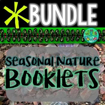 Seasonal Nature Booklet BUNDLE {Autumn/Fall, Winter, Sprin