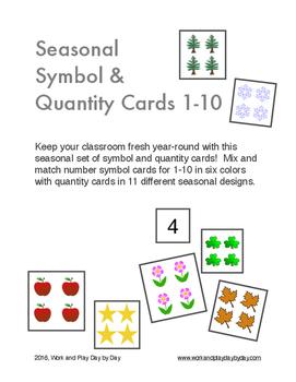 Seasonal Number Quantity & Symbol Montessori Super Set!