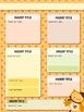 Seasonal Owl Themed Editable Parent Newsletter PowerPoint