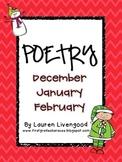 Seasonal Poetry- December, January, February!
