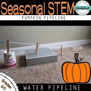 Halloween STEM: Pumpkin Pipeline