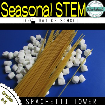 100th Day of School STEM:Spaghetti Structure