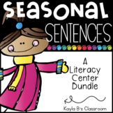 Seasonal Sentences Bundle