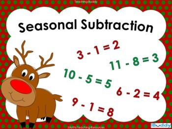 Seasonal Subtraction
