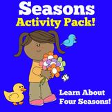 Seasons Activities | Four Seasons | Seasons Kindergarten |