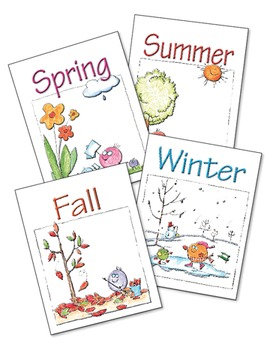 Seasons - A Collection of Fun Independent Activities ♥BUNDLE♥