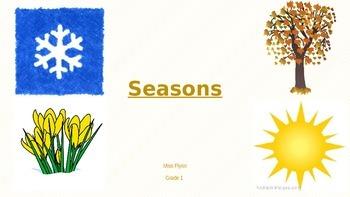 Seasons Clipart Powerpoint