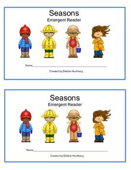 Seasons--EMERGENT READER