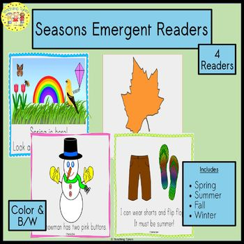 Seasons Emergent Readers Bundles