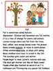 Seasons: First and Second Grade Activities