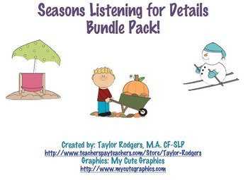 Seasons Listening for Details Bundle!