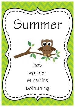 Seasons & Months - bundle pack for NORTHERN HEMISPHERE