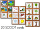 Seasons SCOOT or Write the Room - Labeling Spring, Summer,