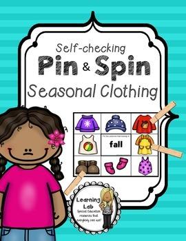 Seasons - Seasonal Clothing - Self-Checking Centers