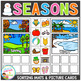 Seasons Sorting Boards with 228 Picture Cards