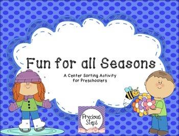 Seasons Sorting Center Activity