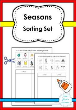 Seasons Sorting Set