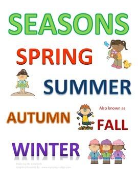 Seasons Subway Art