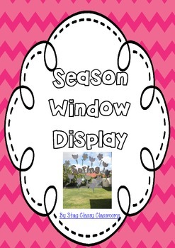 Seasons Window Displays - Printables